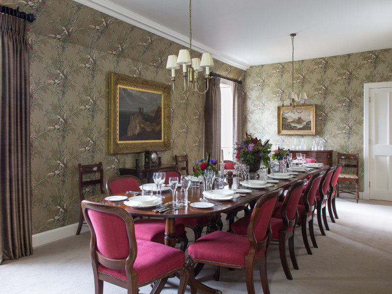 Stay at Abbotsford, Dining Room